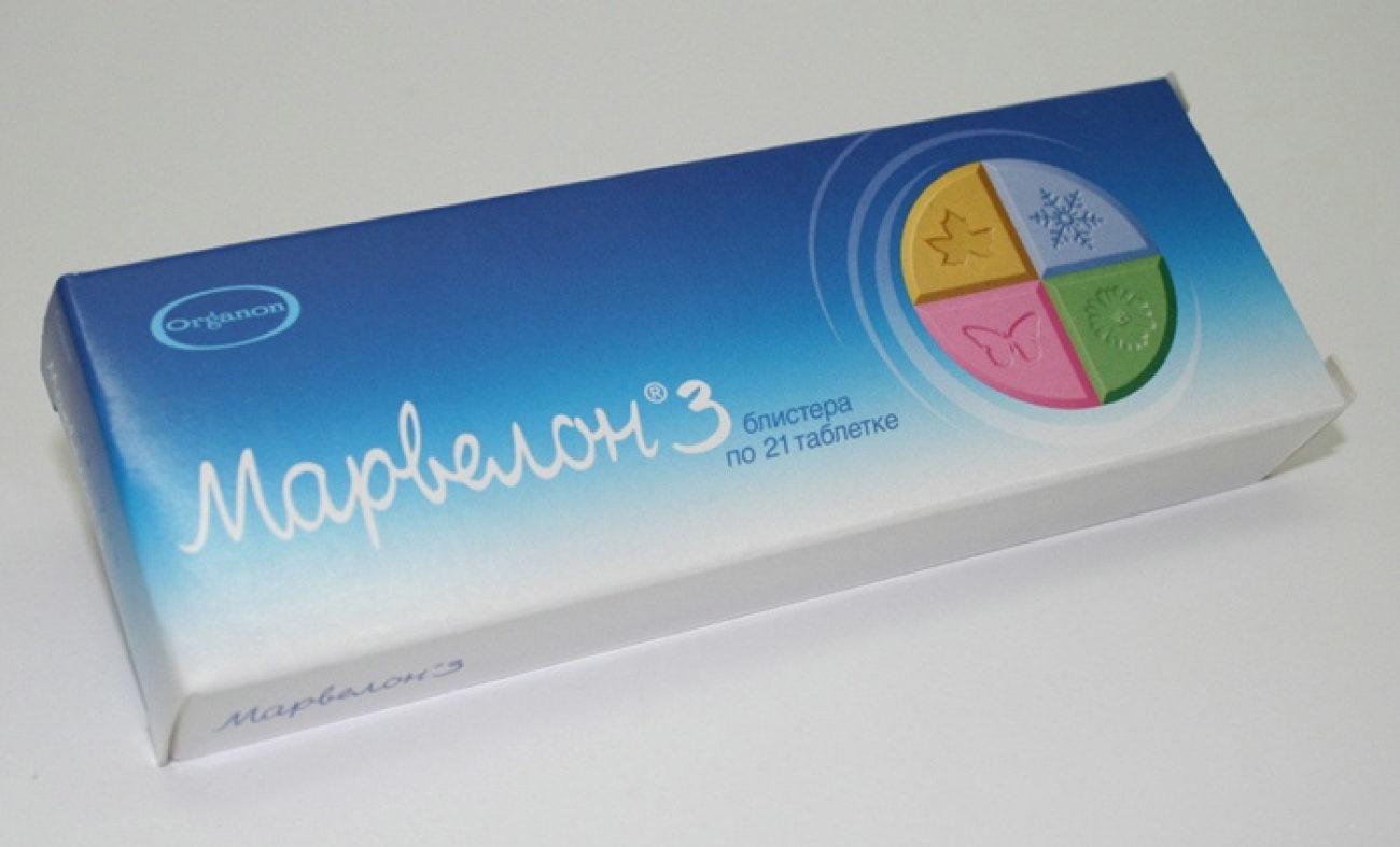 Марвелон Контрацептивы - противозачаточные таблетки